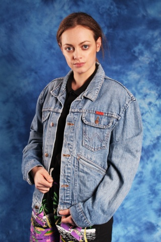 Vintage cool blue jeans...