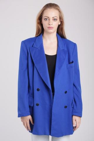 Vintage niebieska...