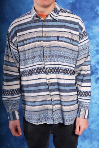 Vintage koszula z długim...