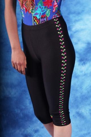 Vintage krótkie legginsy...