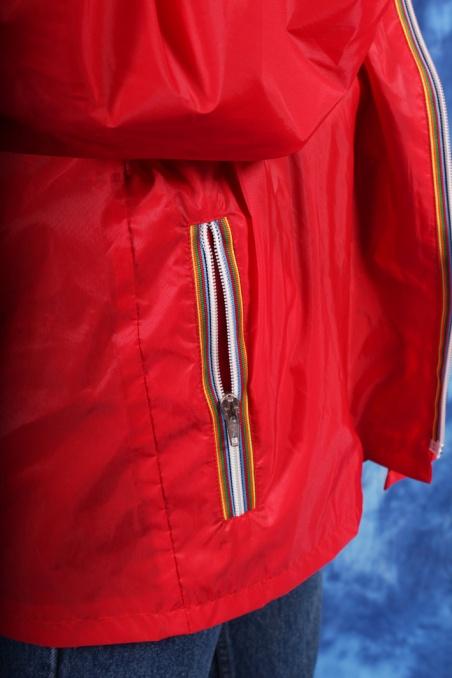 Vintage czerwona wiatrówka...