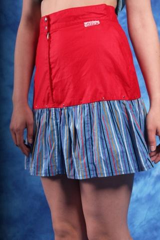 Vintage kolorowa spódniczka...