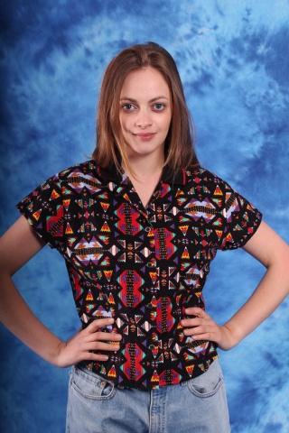 Vintage bawęłniana koszula...