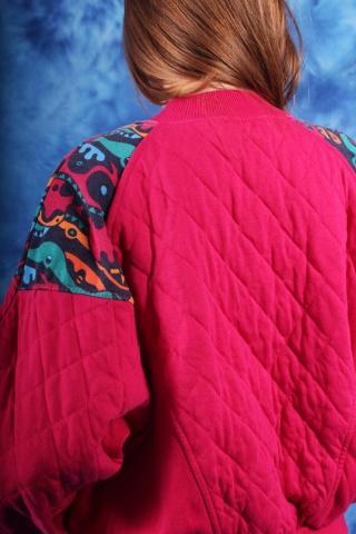 Vintage różowa pikowana...