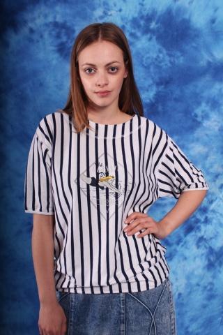 Vintage cotton striped tee...