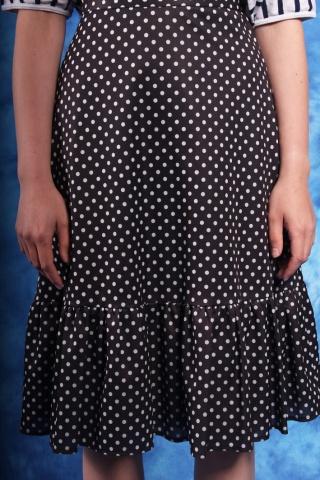 Vintage spódniczka czarna w...