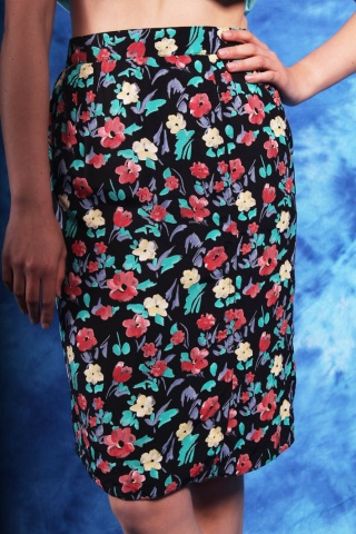 Vintage zwiewna spódniczka...