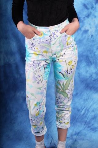 Vintage spodnie z wysokim...