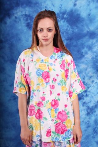Vintage bluzka oversize w...