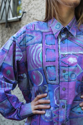 Vintage bawełniana kolorowa...