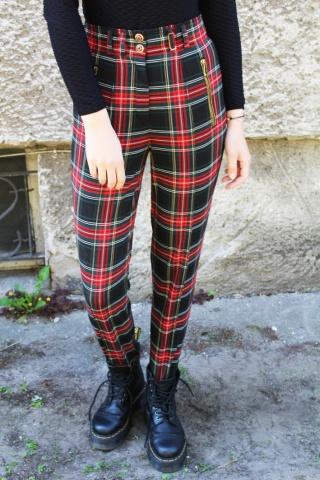 Vintage spodnie narciarki w...