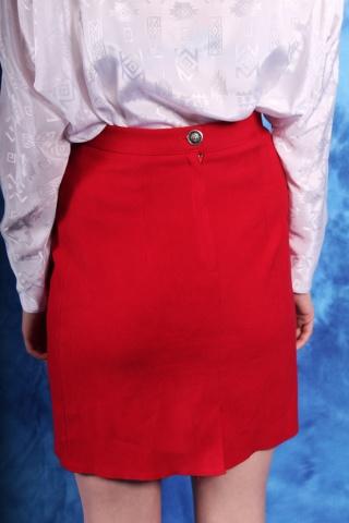 Vintage klasyczna czerwona...