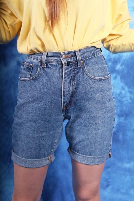 Vintage niebieskie jeansowe...