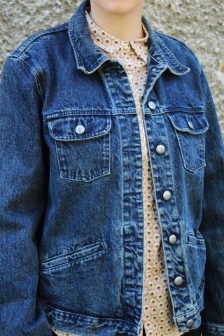 Vintage classic blue jeans...