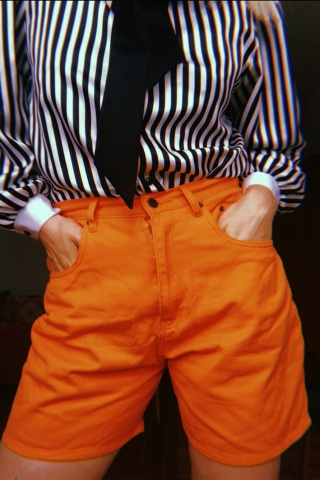 Vintage carrot orange high...