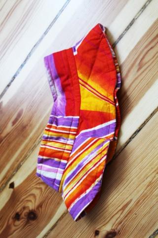 Vintage bawełniany kolorowy...