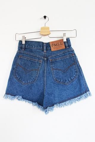 Vintage  jeansowe szorty z...