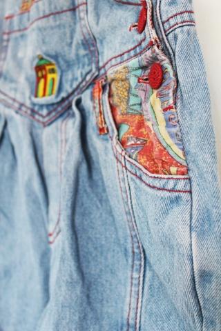 KIDS // Vinatge blue jeans...