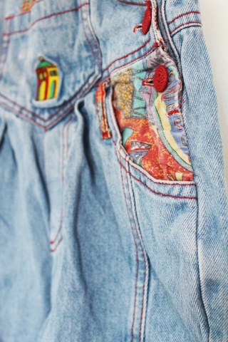 KIDS // Vintage jeansowe...