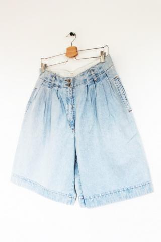 Vintage jeansowe spodenki z...