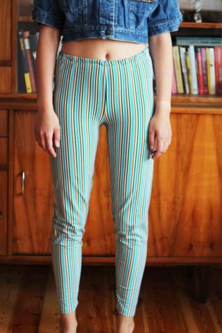 Vintage bawełniane długie...