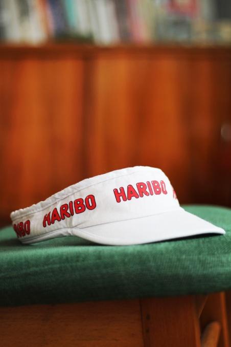 Vintage biały daszek HARIBO...