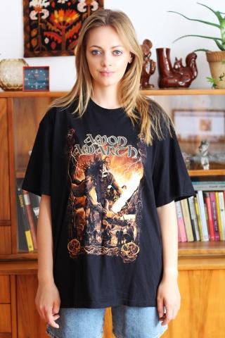 Vintage black band t-shirt...