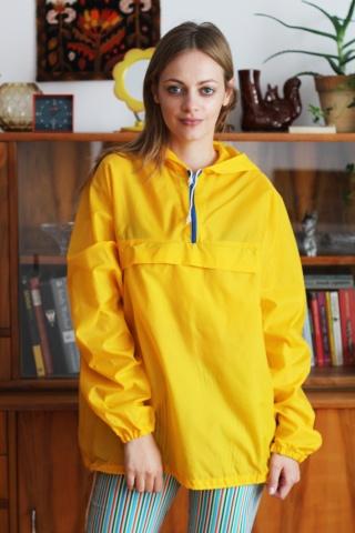 Vintage  żółta kurtka...