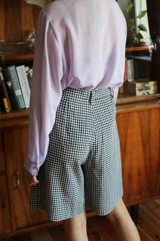 Vintage  szorty w krateczkę...