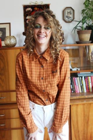 Vintage koszula w kratę...
