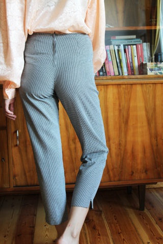Vintage spodnie cygaretki...