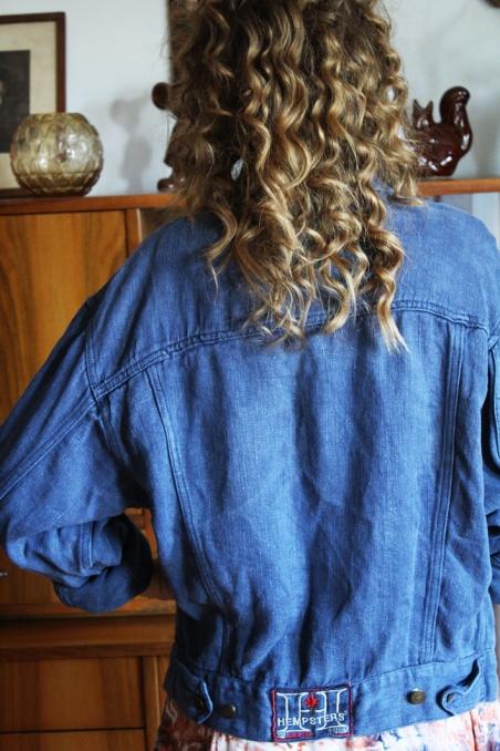 Vintage blue jeans jacket...
