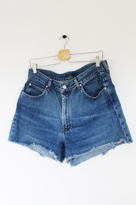 Vintage jeansowe szorty...