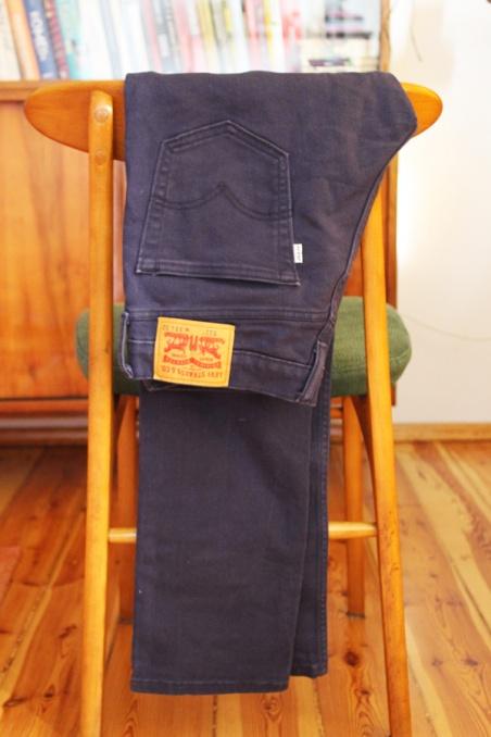Vintage niebieskie jeansy...