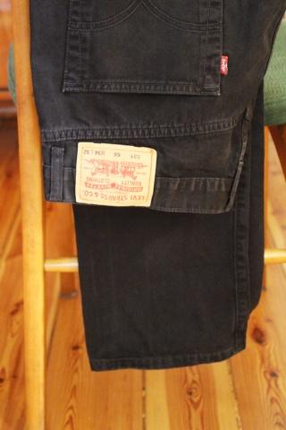 Vintage czarne jeansy...