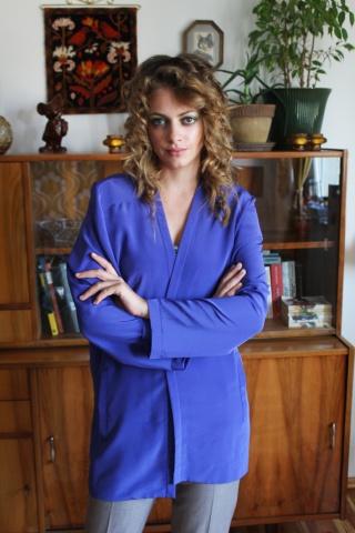 Vintage violet blazer by...