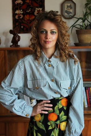 Vintage koszula w...