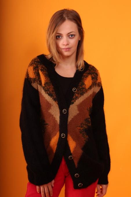 Vintage colorful woolen...