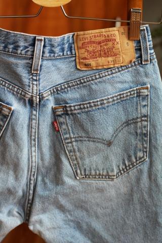 Vintage light jeans shorts...