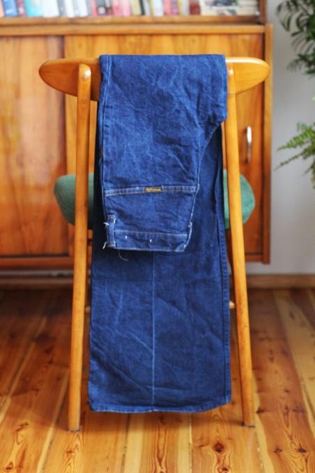 Vintage blue Wrangler...