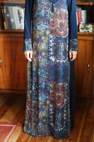 Vintage maxi sukienka...