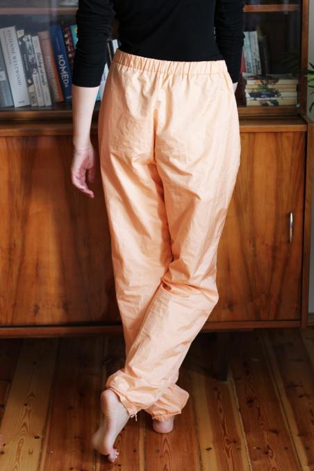 Vintage  morelowe spodnie...