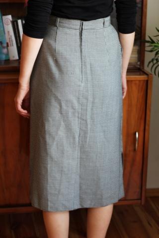 Vintage dłuższa spódnica w...