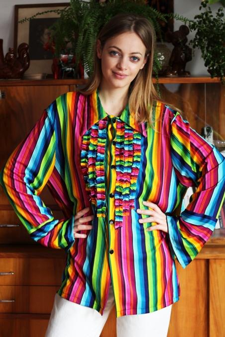Vintage koszula hippie...