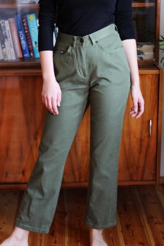 Vintage green mom jeans 90s...