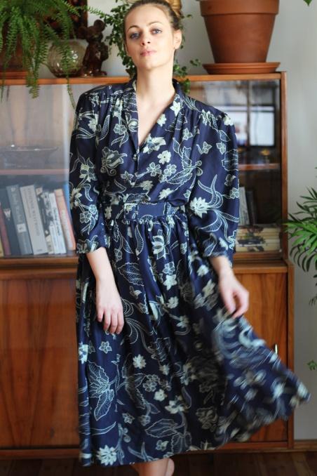 Vintage sukienka w...