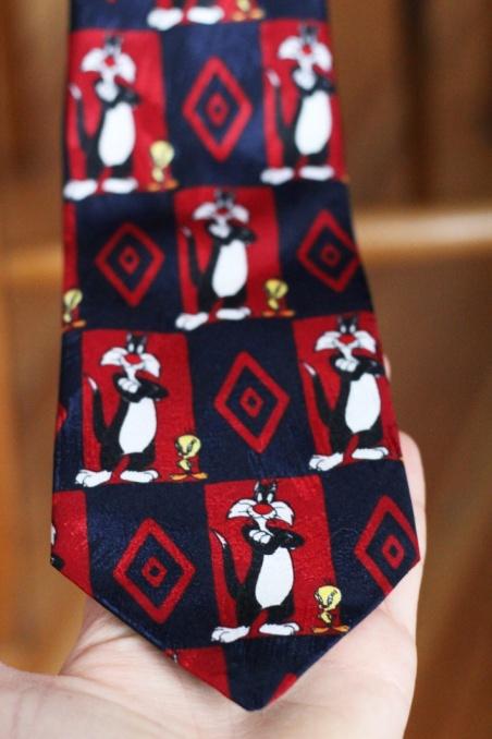 Vintage krawat LOONEY TUNES...