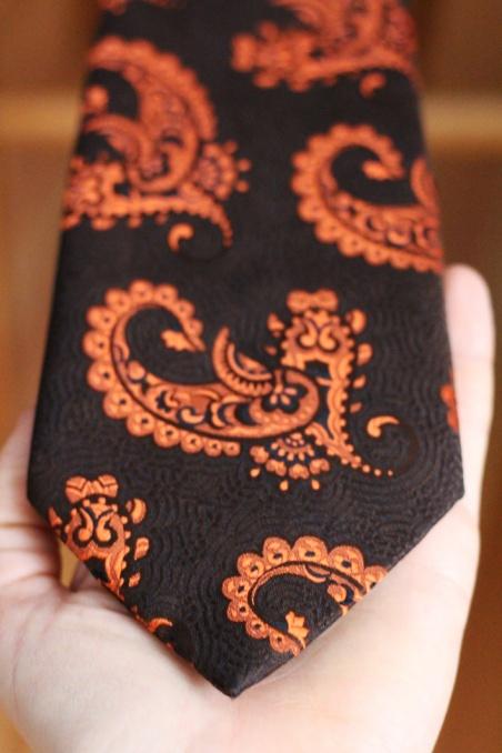 Vintage brown and orange...