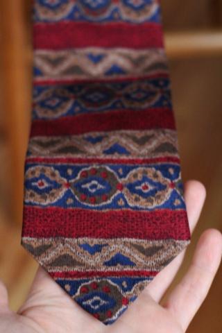 Vintage silk colorful crazy...