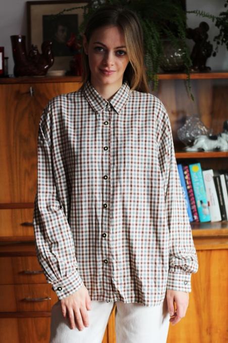 Vintage bawełniana koszula...